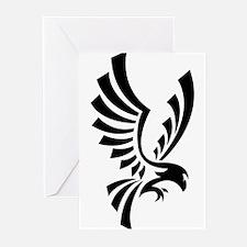 Eagle symbol Greeting Cards
