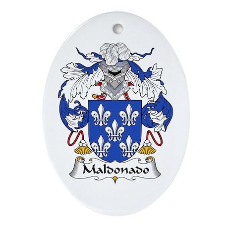 Maldonado I Oval Ornament