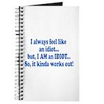 I AM an Idiot Journal
