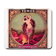 VENUS vintage label Mousepad