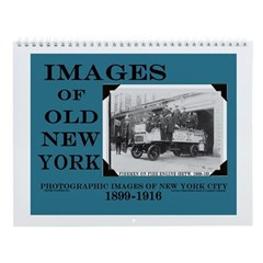 Vintage New York City Photographs Wall Calendar