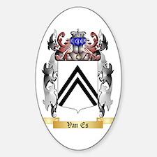 Van Es Sticker (Oval)