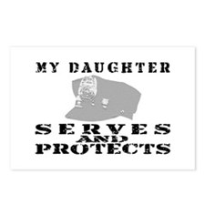 Serves & Protects Hat - Daughter Postcards (Packag