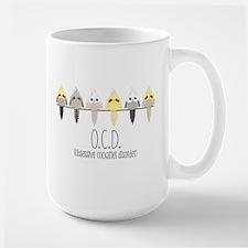 OCD Obsessive Cockatiel Disorder Mugs