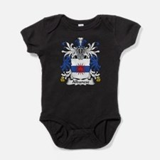 Funny Family name Baby Bodysuit