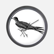 Frigate bird Wall Clock