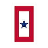 Blue star family service flag 10 Pack