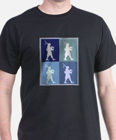 Bagpipes (blue boxes) T-Shirt