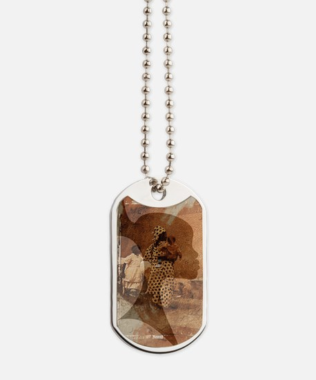 Unique African colors Dog Tags