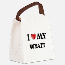 I love my Wyatt Canvas Lunch Bag