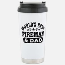 Cute Firefighters wife Travel Mug