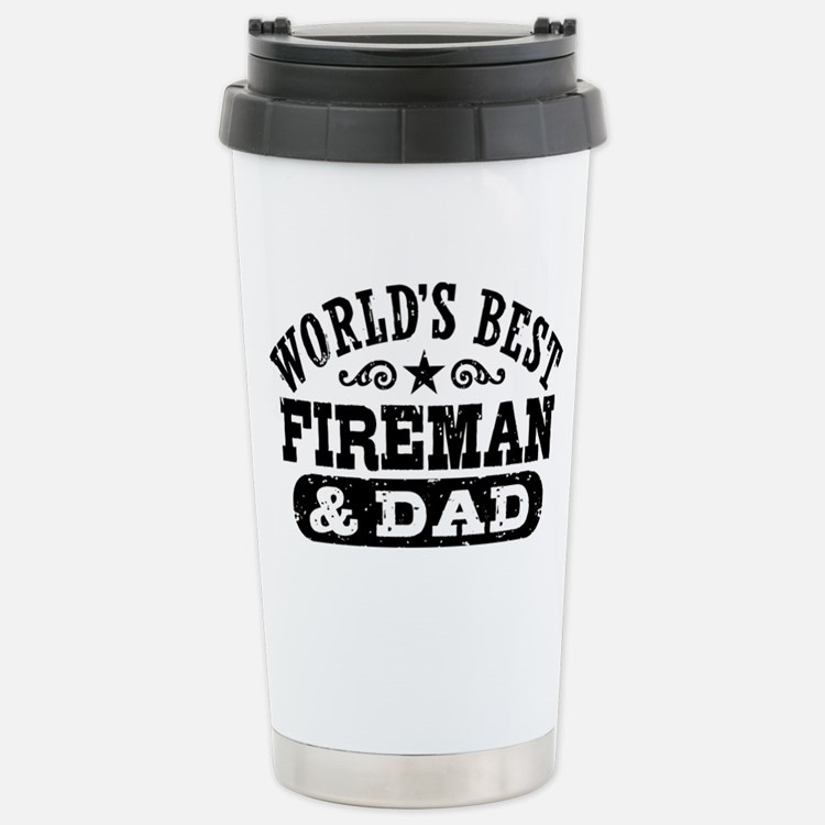 Cute Firemans wife Travel Mug
