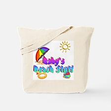 Baby's Beach Stuff Tote Bag