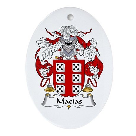 Macías Oval Ornament