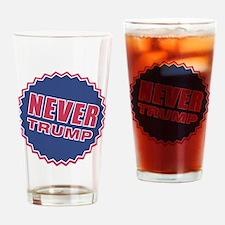 never trump Drinking Glass