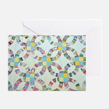 Unique Quilt pattern Greeting Card