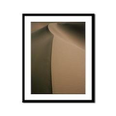 Singing Sands Framed Panel Print