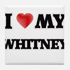 I love my Whitney Tile Coaster