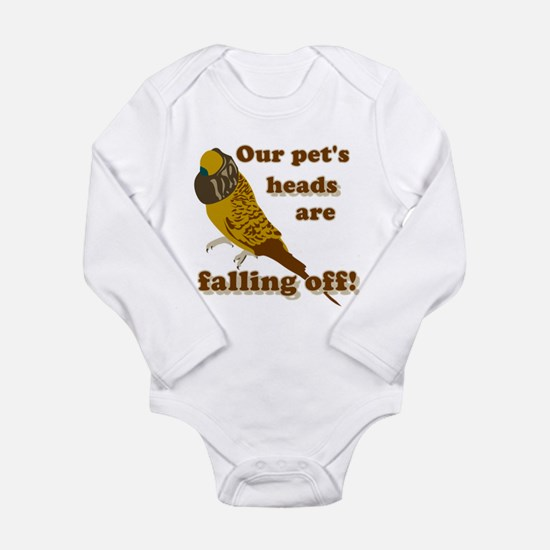 Our pet's heads are falling off! Body Suit