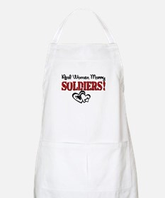 Real Women Marry Soldiers BBQ Apron