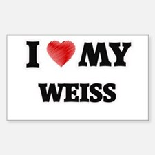 I love my Weiss Decal