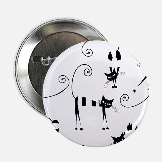 "Amusing cats design set 2.25"" Button (10 pack)"