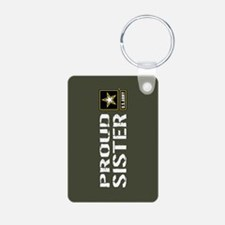 U.S. Army: Proud Sister (M Keychains