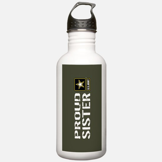 U.S. Army: Proud Siste Water Bottle