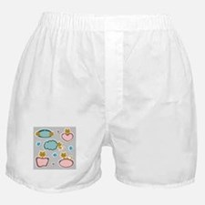 Cute cats theme of life Boxer Shorts