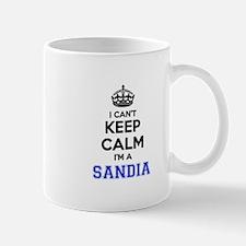 I can't keep calm Im SANDIA Mugs