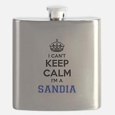 I can't keep calm Im SANDIA Flask