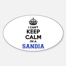 I can't keep calm Im SANDIA Decal