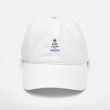 I can't keep calm Im SANDIA Baseball Baseball Cap