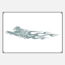 Running tiger tattoo Banner