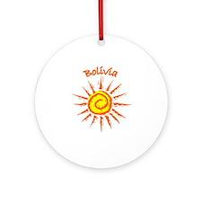 Bolivia Ornament (Round)
