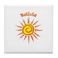 Bolivia Tile Coaster