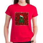 Christmas Bear Women's Dark T-Shirt
