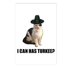 Can has turkee Postcards (Package of 8)