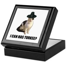 Can has turkee Keepsake Box