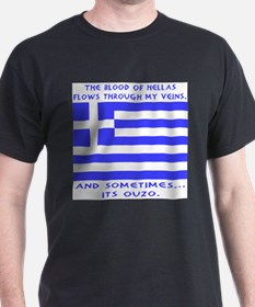 Blood of Hellas and Ouzo T-Shirt