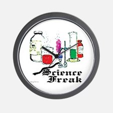 Science Freak Wall Clock