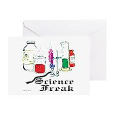 Science Freak Greeting Card