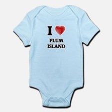 I love Plum Island Massachusetts Body Suit
