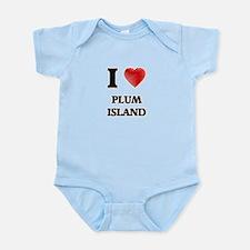 I love Plum Island Massachusetts Body Suit