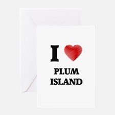 I love Plum Island Massachusetts Greeting Cards