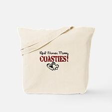 Real Women Marry Coasties! Tote Bag