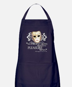 Shakespeare Taming of the Shrew Quote Apron (dark)
