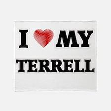 I love my Terrell Throw Blanket
