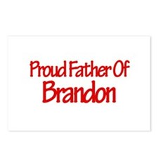 Proud Father of Brandon Postcards (Package of 8)