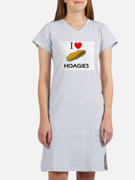 Cute Love foods Women's Nightshirt